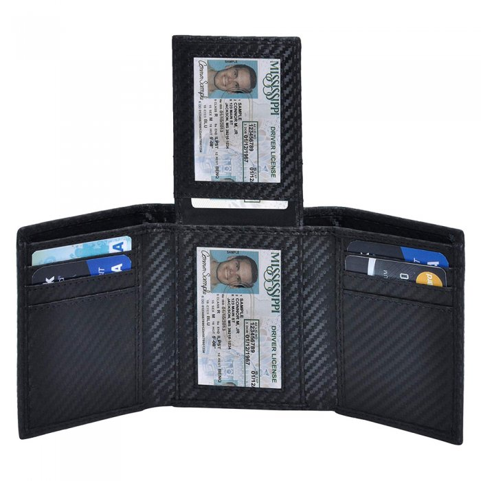 Aamzon-hot-sale-Wallet-For-Men-PU-Leather-Mens-Trifold-Wallet-WL009-1