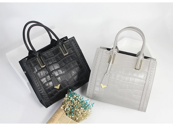 Big-Women-Tote-Long-Handle-Large-Ladies-Genuine-Leather-Fashion-Tote-Bag-Zippered-OEM-3