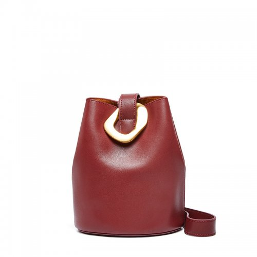 Cattlehide-real-leather-bucket-handbag-wholesale-CHB083-5