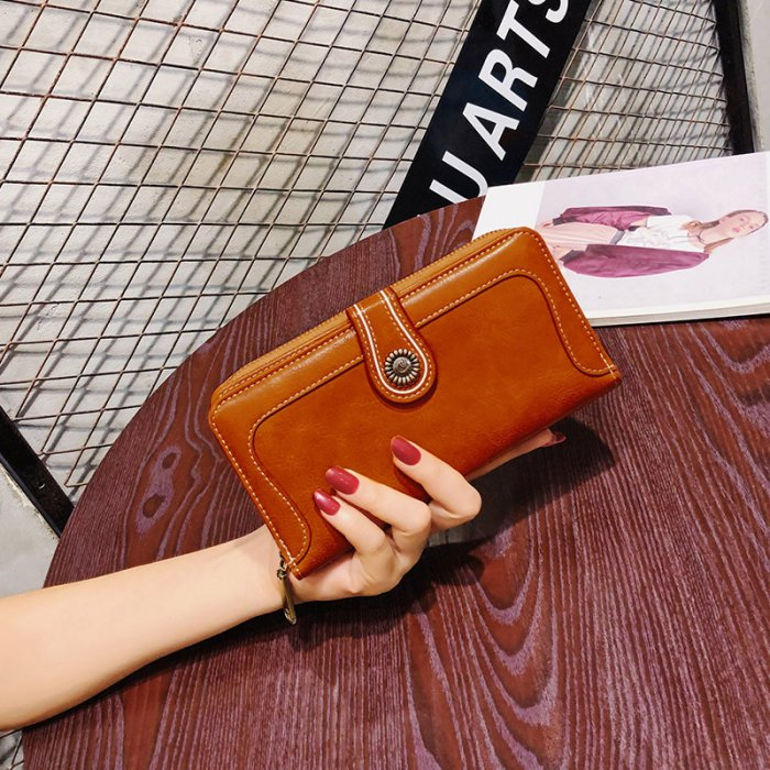 Classic-oil-waxed-leather-long-wallet-WOL030-3
