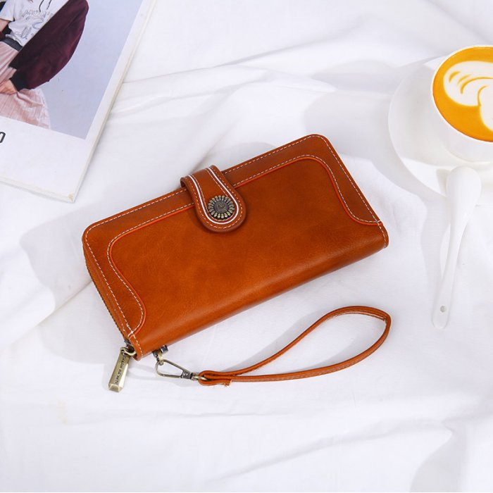 Classic-oil-waxed-leather-long-wallet-WOL030-4