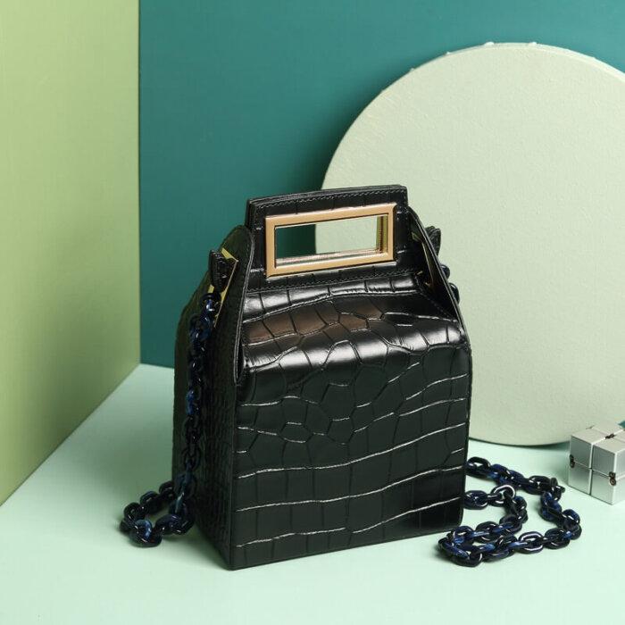 Cowhide-milk-box-handbag-CHB042-2