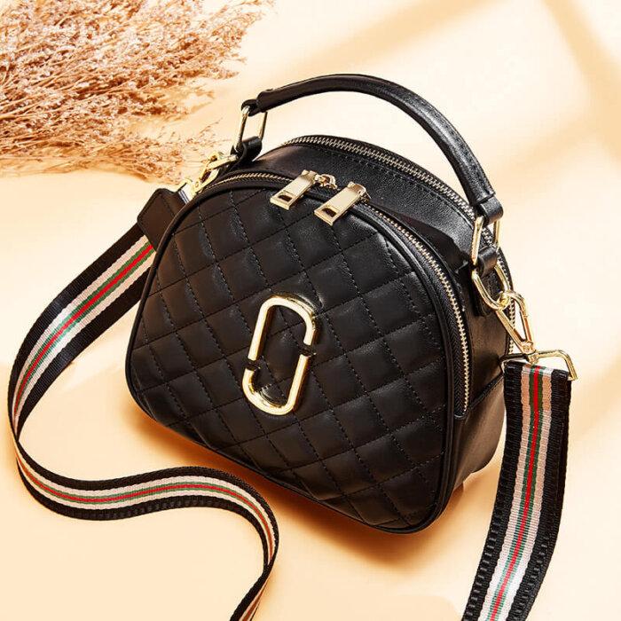 Cowhide-zipper-chain-handbag-wholesale-from-Luisway-CHB076-2