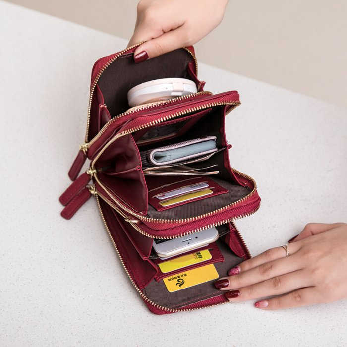 Crossbody-single-shouler-long-wallet-bag-wholesale-WOL042-5