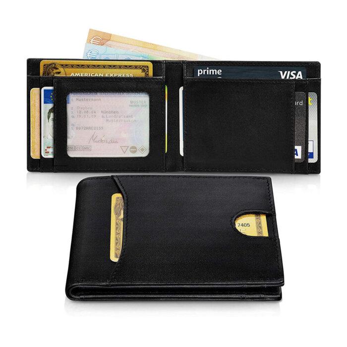 Custom-Mens-Genuine-Leather-Wallet-WL007-2