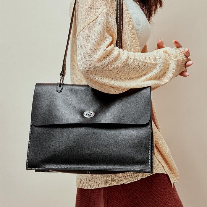 Custom-large-capacity-cowhide-handbag-CHB086-2
