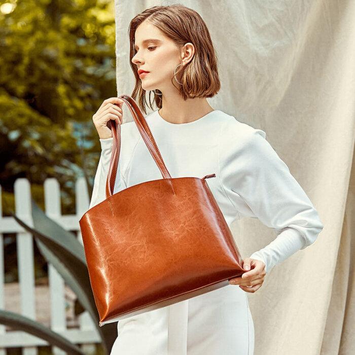 Custom-oil-waxed-cowhide-tote-handbag-CHB082-2
