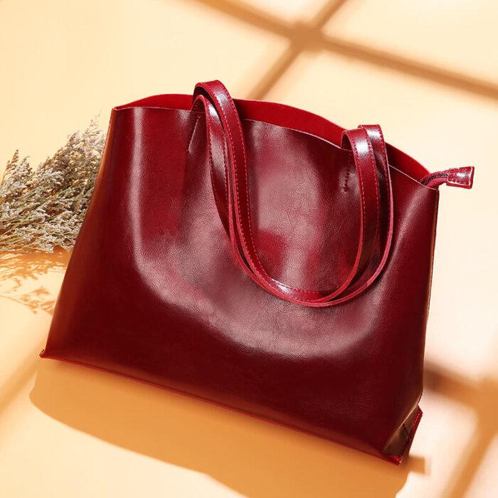 Custom-oil-waxed-cowhide-tote-handbag-CHB082-4