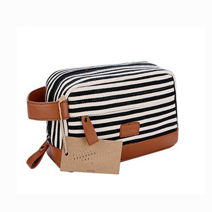 Custom-travel-leather-makeup-organizer-canvas-cosmetic-bag-COS020-2