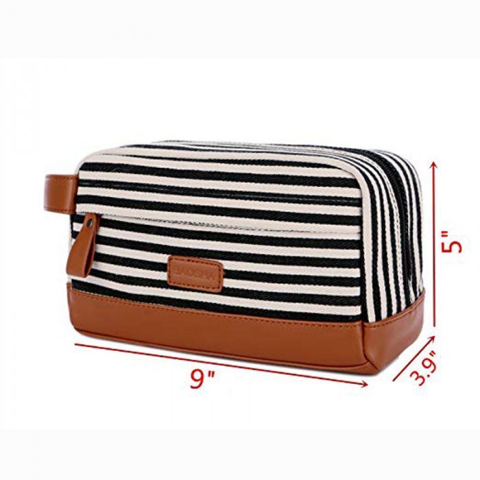 Custom-travel-leather-makeup-organizer-canvas-cosmetic-bag-COS020-3