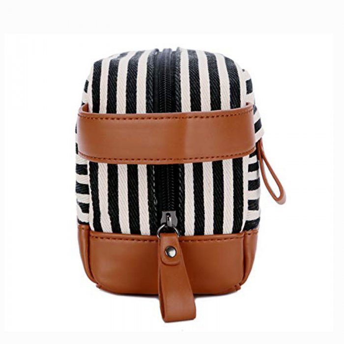 Custom-travel-leather-makeup-organizer-canvas-cosmetic-bag-COS020-4