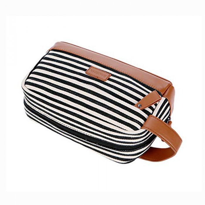 Custom-travel-leather-makeup-organizer-canvas-cosmetic-bag-COS020-5