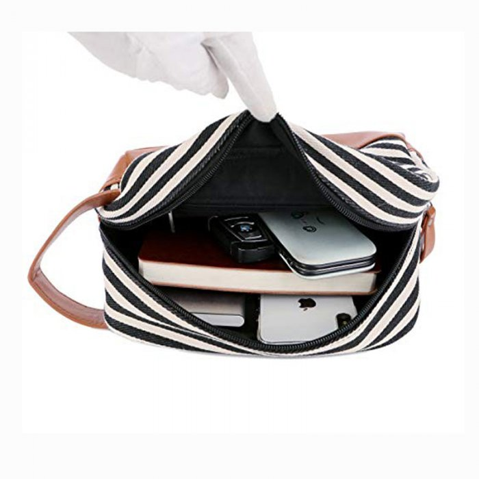 Custom-travel-leather-makeup-organizer-canvas-cosmetic-bag-COS020-6