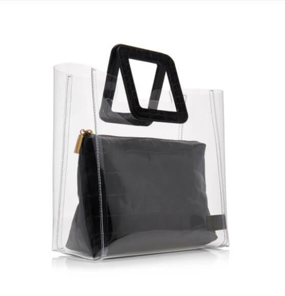 Designer-women-transparent-PVC-handbag-set-HB052-2