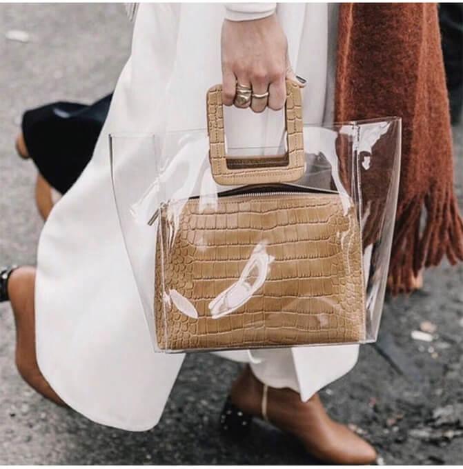 Designer-women-transparent-PVC-handbag-set-HB052-6