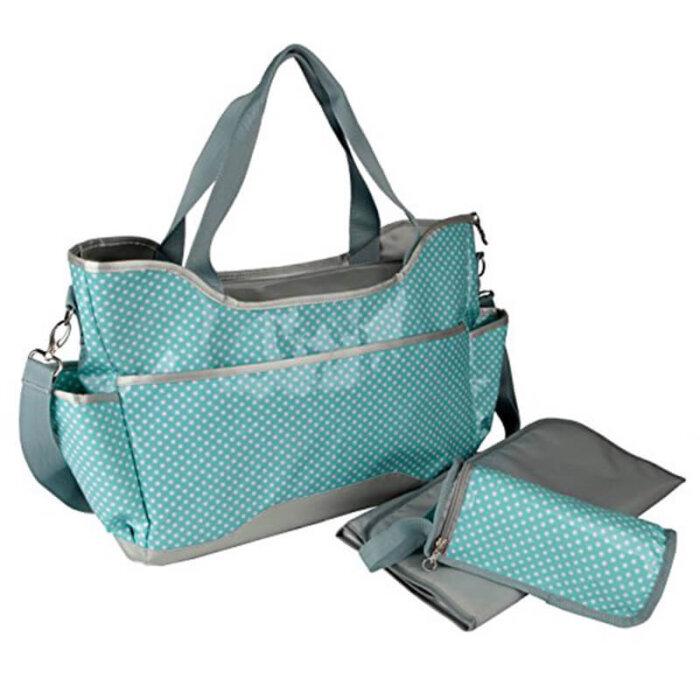 Easy-clean-baby-diaper-bag-organizer-insert-bottle-holder-HB062-1