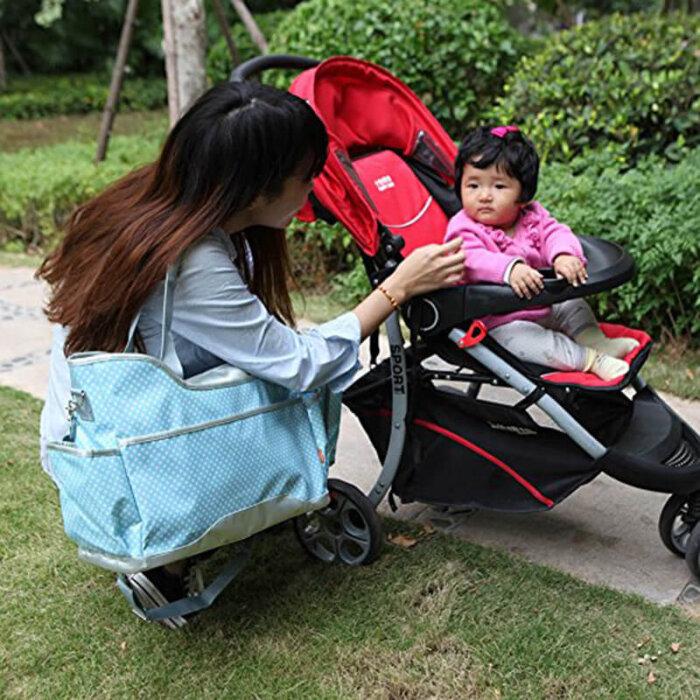 Easy-clean-baby-diaper-bag-organizer-insert-bottle-holder-HB062-2