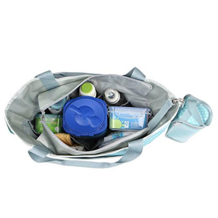 Easy-clean-baby-diaper-bag-organizer-insert-bottle-holder-HB062-5