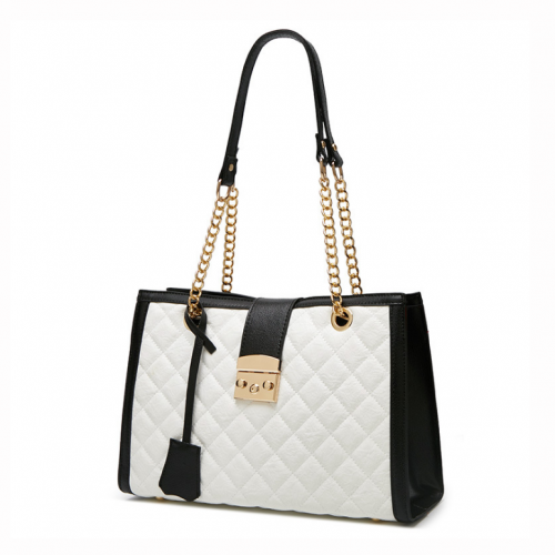 Embroidery-diamond-lattice-quilted-women-shoulder-tote-bag-HB057-1