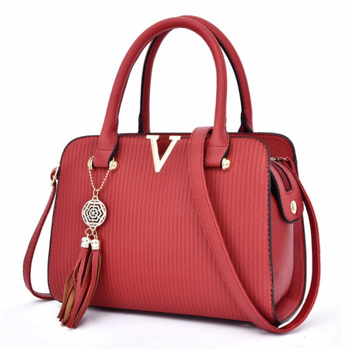 Fashion-Hand-Women-Sling-Shoulder-Cross-body-Luxury-Leather-Handbag-Set-HB064-1
