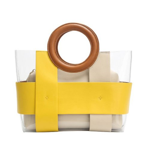 Fashion-lady-transparent-pvc-plastic-tote-bag-jelly-handbag-wholesale-CHB054-1