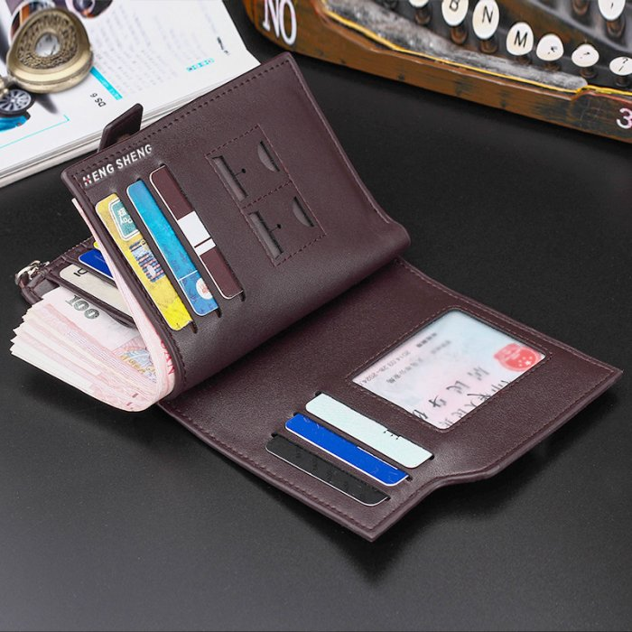 Fashion-pu-leather-short-wallet-for-man-WL068-5