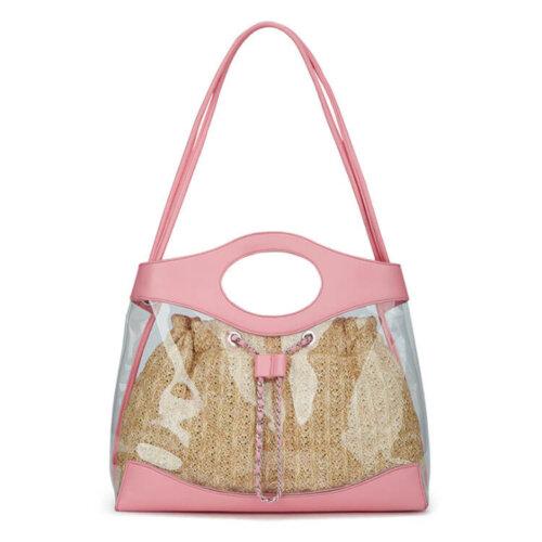 Fashion-transparent-chain-women-pvc-handbag-HB033-1