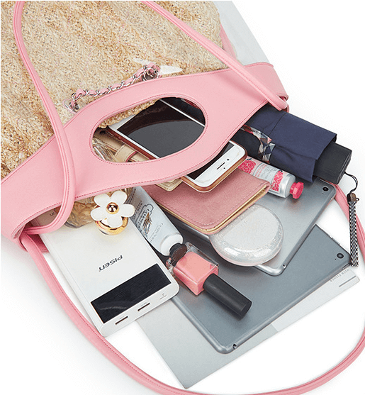 Fashion-transparent-chain-women-pvc-handbag-HB033-3