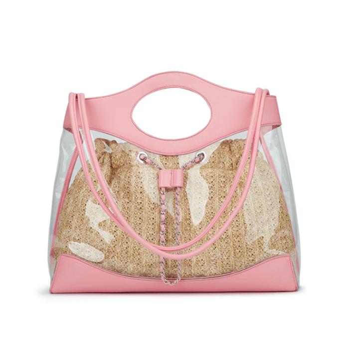 Fashion-transparent-chain-women-pvc-handbag-HB033-4