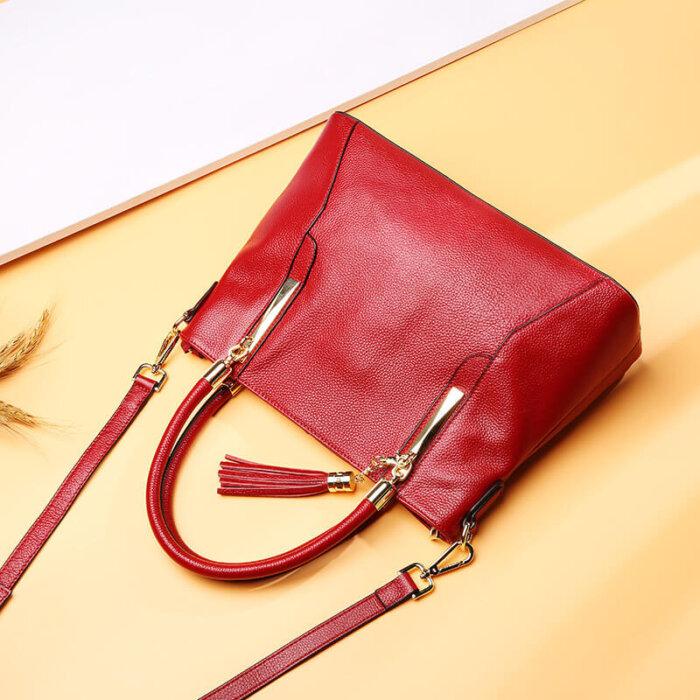 Genuine-leather-wholesale-tassel-handbag-CHB071-3