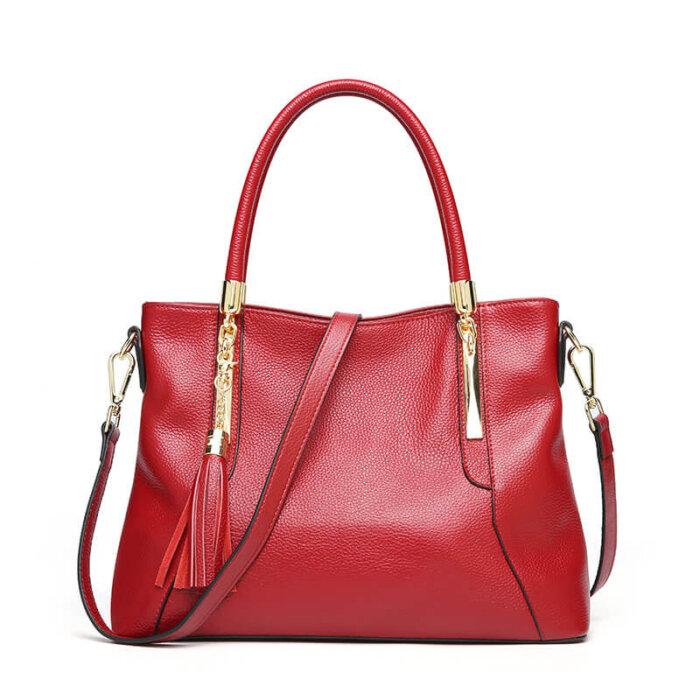 Genuine-leather-wholesale-tassel-handbag-CHB071-6