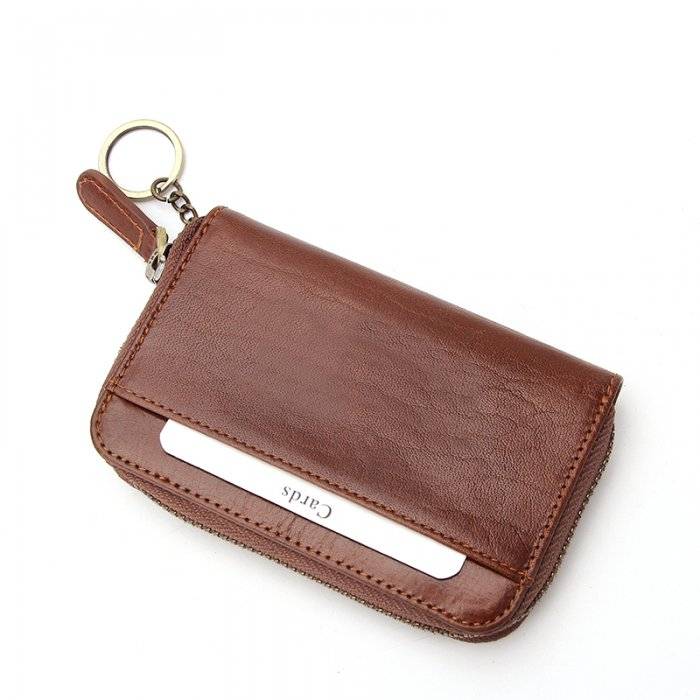 Key-Chain-Genuine-Cow-Leather-Unisex-Wallet-Wholesale-WOL006-1