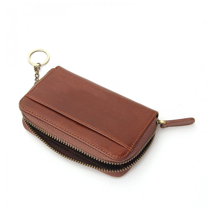 Key-Chain-Genuine-Cow-Leather-Unisex-Wallet-Wholesale-WOL006-5