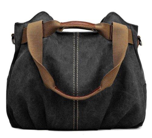 Ladies-Casual-Vintage-Hobo-Canvas-Shoulder-Tote-Handbag-HB074-3