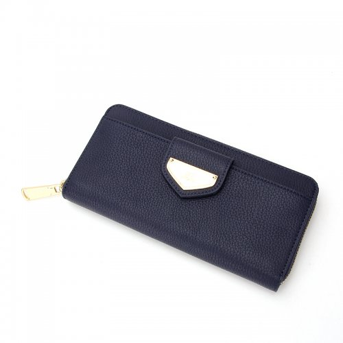 Ladies-Folding-Leather-Long-Clutch-Credit-Card-Wallet-WOL017-1