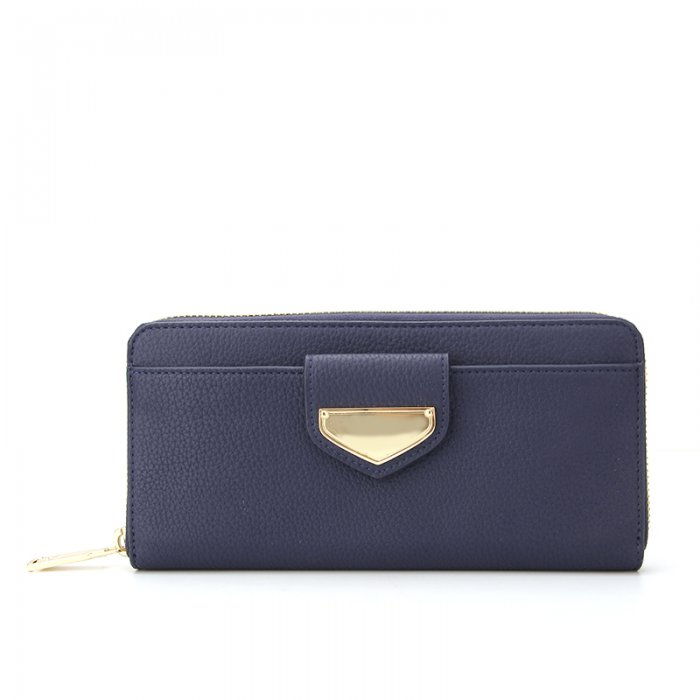Ladies-Folding-Leather-Long-Clutch-Credit-Card-Wallet-WOL017-2