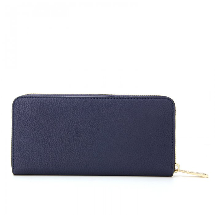 Ladies-Folding-Leather-Long-Clutch-Credit-Card-Wallet-WOL017-3