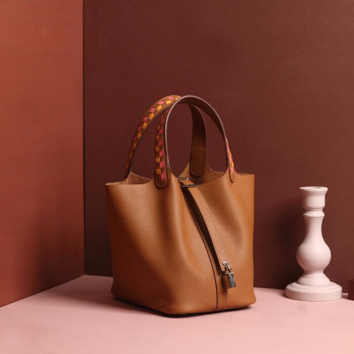Large-size-real-leather-bucket-handbag-CHB049-5