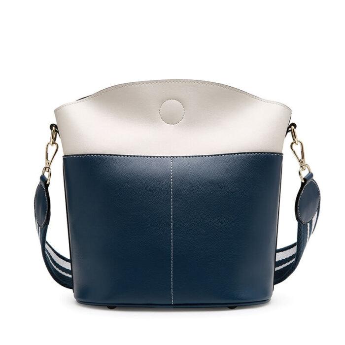 Large-space-lady-cowhide-bucket-handbag-wholesale-CHB095-4