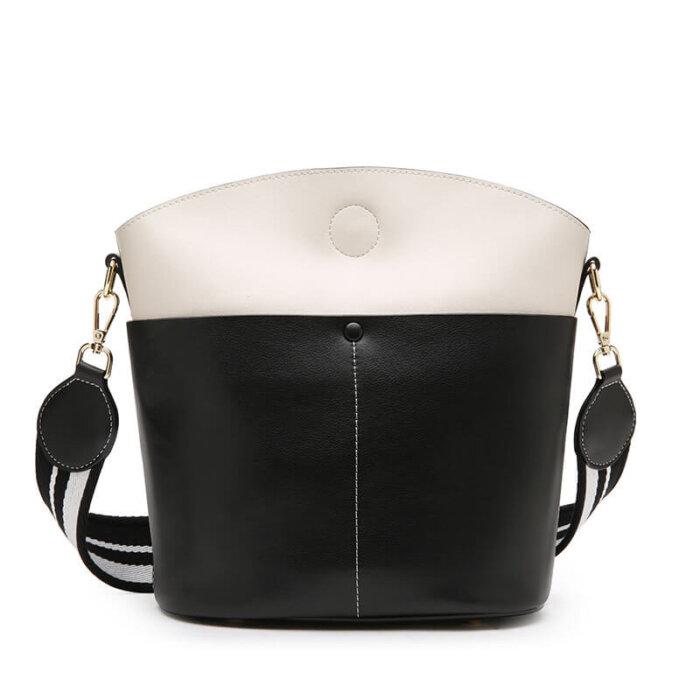 Large-space-lady-cowhide-bucket-handbag-wholesale-CHB095-7