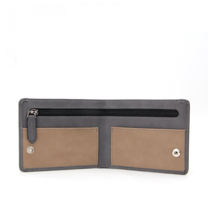 Leather-Bifold-Mens-Wallet-Money-Clip-With-Zipper-Wholesale-WL013-3