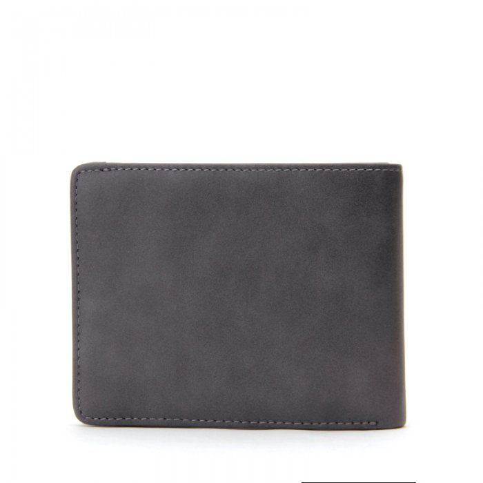 Leather-Bifold-Mens-Wallet-Money-Clip-With-Zipper-Wholesale-WL013-4