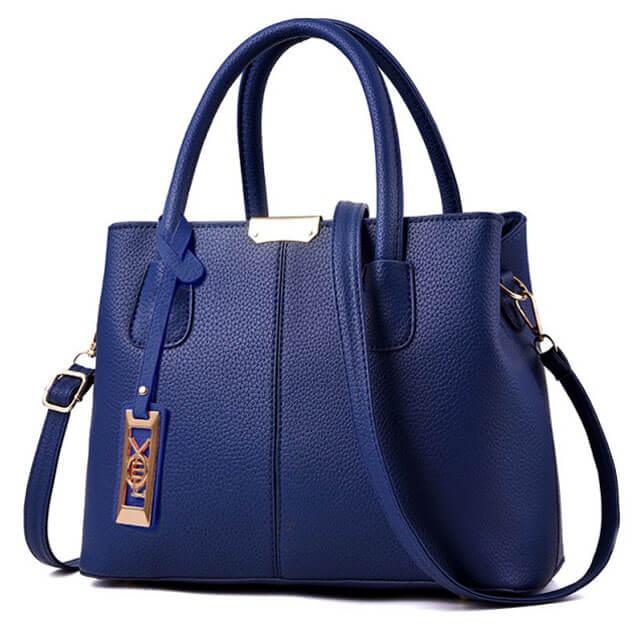 Litchi-pattern-hardware-tag-decoration-stitching-women-bags-HB008-2