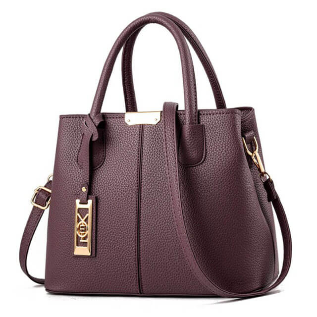 Litchi-pattern-hardware-tag-decoration-stitching-women-bags-HB008-5