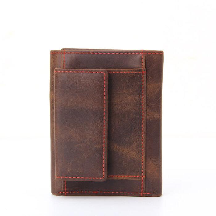 Luxury-Handmade-RFID-Blocking-Crazy-Horse-Leather-Trifold-Wallet-WL019-3
