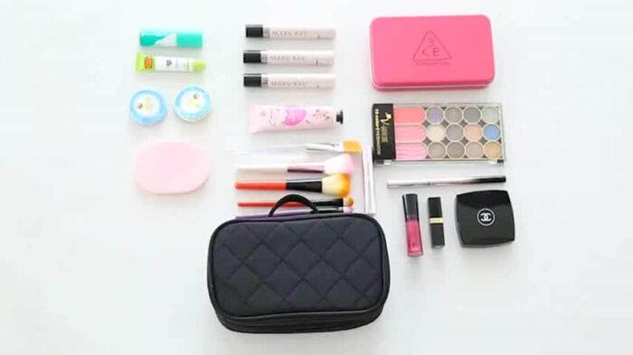 Makeup-Brushes-Zipper-Mirror-Cosmetic-Bag-COS094-1
