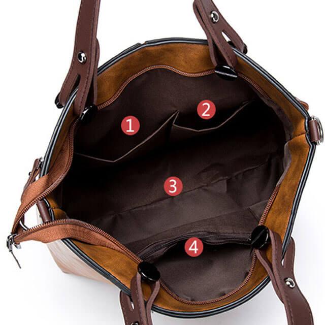 Matte-leather-Splice-Ladies-bags-Zipper-handbags-HB009-5