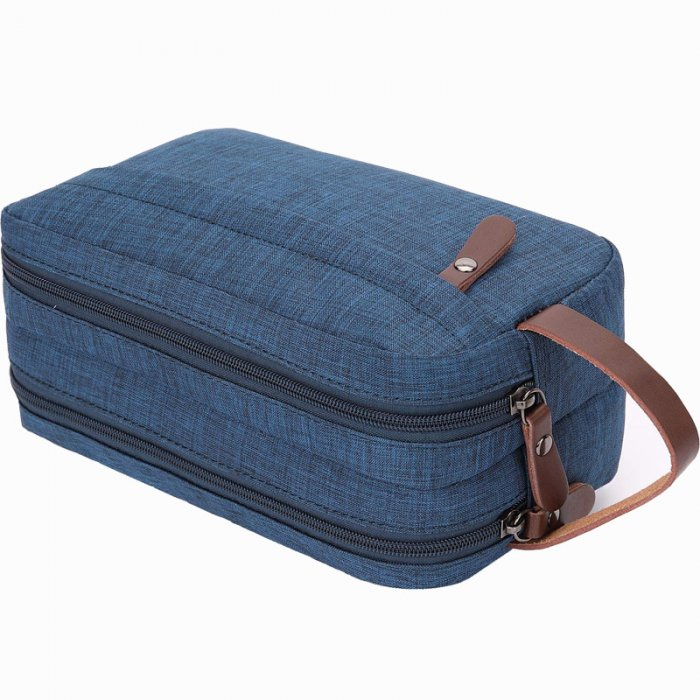 Mens-Toiletry-Bag-Dopp-Kit-Travel-Bathroom-Bag-COS039-2
