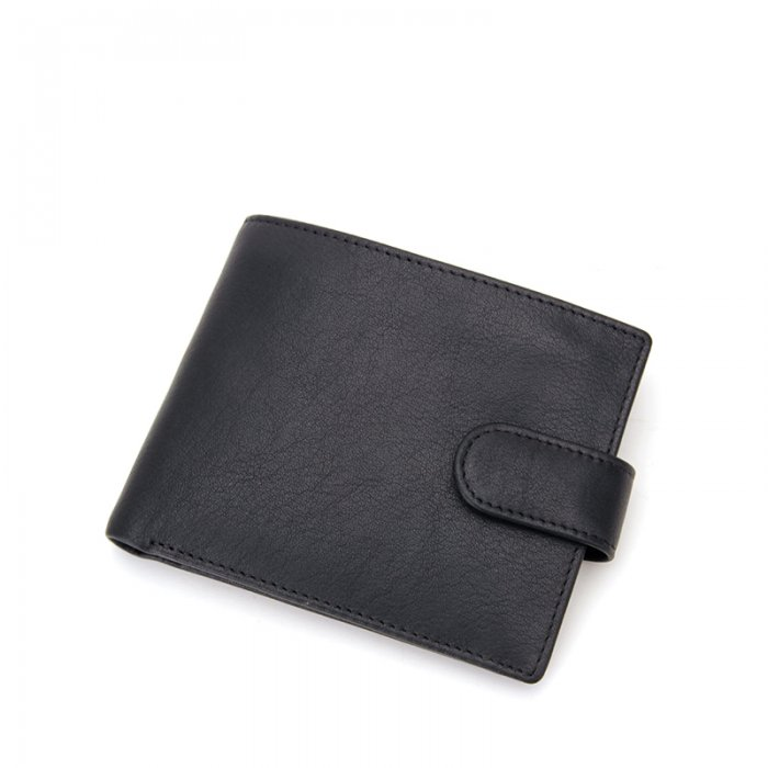 Mens-Wallet-With-Coin-Pocket-Button-Closure-Bifold-Wallet-WL020-3