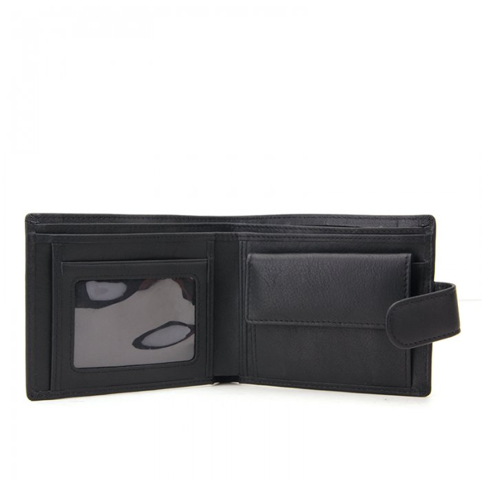 Mens-Wallet-With-Coin-Pocket-Button-Closure-Bifold-Wallet-WL020-4